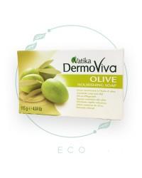 """Мыло с маслом оливы """"DermoViva"""" от Vatika, 115 гр"""