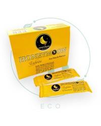 Турецкая паста Мёд со смесью трав HONEY MOON Exclusive для мужчин и женщин, 10 шт х 10 гр