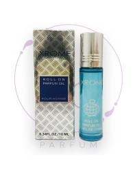 Масляные роликовые духи XROME (Хром) by Fragrance World, 10 ml