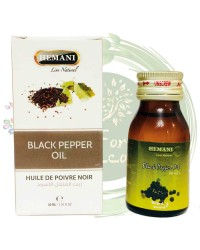 Масло ЧЕРНОГО ПЕРЦА (Black Pepper Oil) Hemani, 30 ml