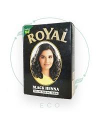 Натуральная индийская ХНА для волос Royal, чёрная, 7шт. по 10 гр.