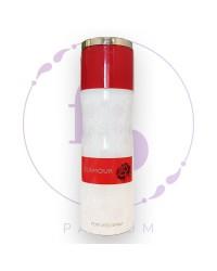 """Парфюмерный ДЕЗОДОРАНТ для тела """" Glamour"""" by Fragrance World, 200 ml"""