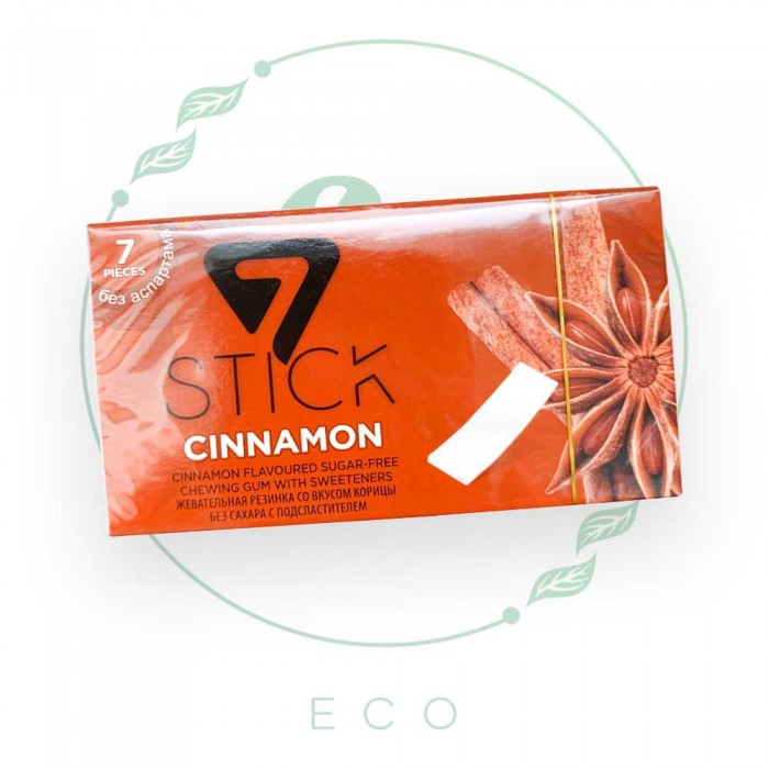 Жевательная резинка КОРИЦА / CINNAMON без сахара Stick (Турция), 14.5 гр