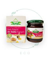 Медовая паста с Маточным молочком и Пыльцой (для взрослых) от Themra, 240 гр